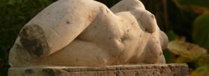 Liegender Akt - Sandstein - ca.50 cm - 2013